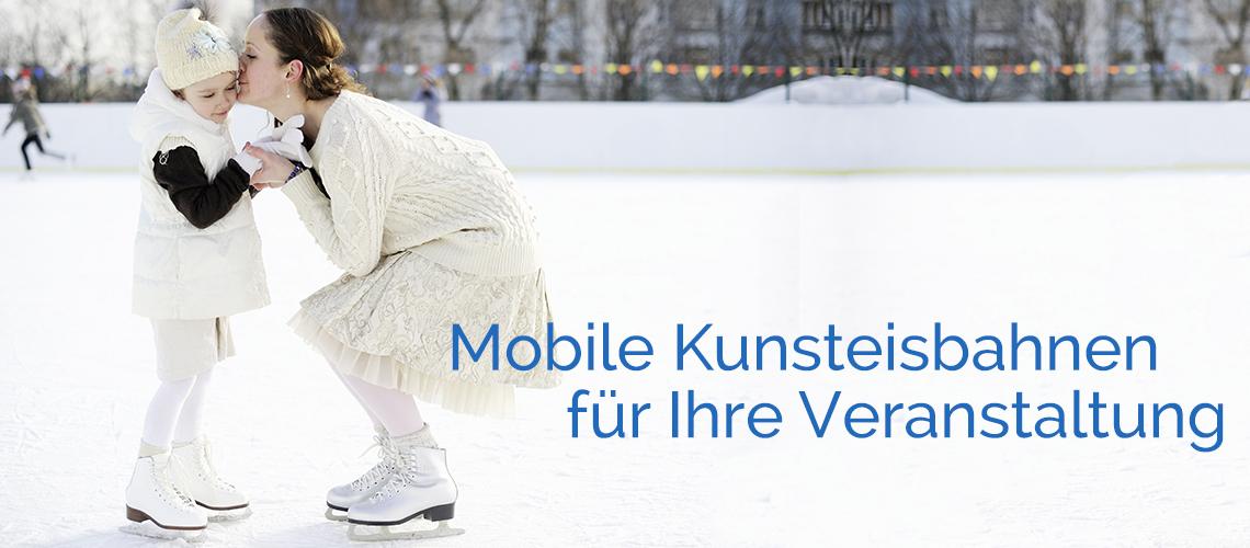 Mobile Kunsteisbahnen für Ihre Veranstaltung
